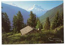 CPSM GF 74 (Haute Savoie) - 908. Verte et Drus vus de la Loriaz