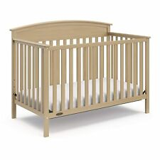 Graco Benton 4-in-1 Convertible Crib, Driftwood, Solid Pine
