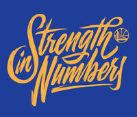 Golden State Warriors Strength in Numbers Playoffs shirt Steph Curry Durant KD