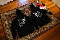 Disney Mickey Kissing Minnie Mouse Couple Hoodie Sweatshirt Men Women Unisex