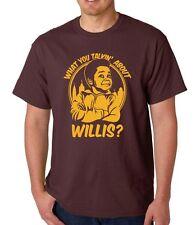 What You Talkin Alrededor Willis Camiseta Coleman Diferente Trazos Geek Años 80