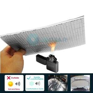 Car Firewall Ceiling Doors Aluminum Foil Automotive Sound Deadener Heat Sheets