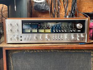SANSUI QRX-9001 QUAD/ STEREO 2/4 CHANNEL RECEIVER For Parts No Working No Sound