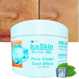 Pore Closer Skin Minimizer SILICA & ALOE VERA  IceSkin Gel Cold Effect ALKAVITA