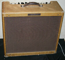 1955-9 Vintage *FENDER PRO* Guitar AMPLIFIER~  Mixed Chassis & cabinet TWEED!