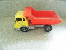 Vintage Hubley Dump/Pickup truck – Red/Yellow