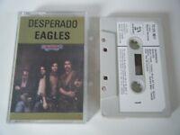THE EAGLES DESPERADO CASSETTE TAPE 1973 WHITE PAPER LABEL ASYLUM TC-SYL 9011