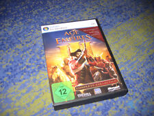 Age of Empires 3 Complete Collection PC kpl. inkl Asian + Warchiefs Dynasties