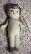 Vintage Ceramic Bisque Flapper Style Kewpie Doll Made in Japan Frozen Legs
