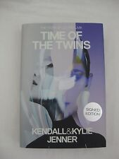 "KENDALL & KYLIE JENNER Signed Book ""TIME OF THE TWINS"" 1st Edition (Hardcover)"