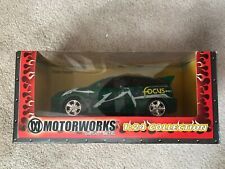 Motorworks Ford Focus ZX3 diecast green 1/24 New in box