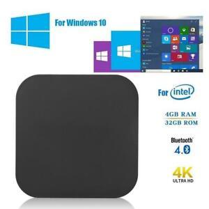 Portable W8 Pro Mini PC Quad-core 4GB+64GB HDMI 100Mbps for Intel X5Atom Z-8350