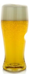 Govino Set of 8 Shatterproof 16oz. Beer Glasses with Thumb-Notch