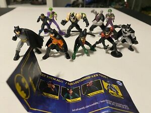 Spin Master Batman Universe Mini Figures Complete Wave With 10 Different Figs