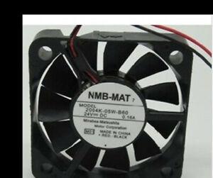 1 pcs NMB-MAT 2004KL-05W-B60 24V 0.16A 5 cm 5010 inverter cooling fan