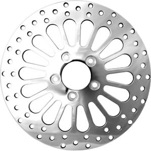 """Spoker Rotor Rear Polished 11.5"""" Harddrive RO43R-11.5 For 84-07 Harley Touring"""
