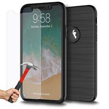 Coque Etui Intègrale iPhone XS/X/8/7/6/S/Plus Protection 360 Case + Verre trempé