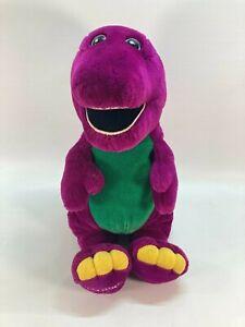 "Large Barney Purple Dinosaur Plush Jumbo 26"" Lyons Group Golden Bear Plush TOY"