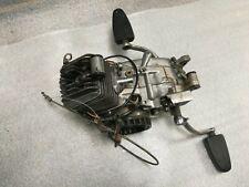 A. Zündapp Mofa 25 Typ 434 Motor komplett + Lichtmaschine engine