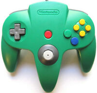 Official Nintendo 64 N64 Controller - Green - For N64 Gaming Consoles