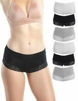 Women's BoyShorts Panties Underwear | Comfortable Fit | S M L XL | Lot of 3-10