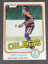 JARI KURRI Oilers 1981-82 O-Pee-Chee Card #107