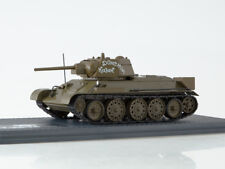 Scale model tank 1/43 T-34-76 Don Cossack