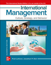 International Management: Culture, Strategy And Behavior 11th International Ed