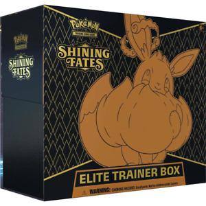 Pokémon TCG Shining Fates Elite Trainer Box Brand New Preorder SHIPPING 31.03.21