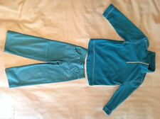 Light Blue Fleece Pullover and Pant Set