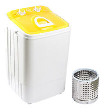 DMR 46-1218 Single Tub Portable Mini Washing Machine wid steel dryer basket - Yl