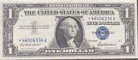 USA 1 Dollar 1957 Silver Certificate One Banknote STAR NOTE Schein #22002