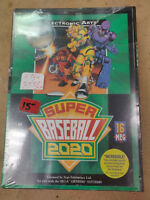 New Old Stock SEALED EA Super Baseball 2020 for Sega Genesis - Lot F