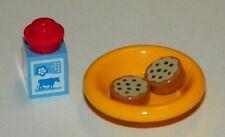 LEGO - Minifigure Food & Drink - Milk & Cookies