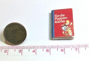 1164# Miniatur Kochbuch für die Puppenküche - Puppenhaus-Puppenstube - M1zu12