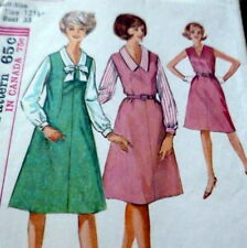 *LOVELY VTG 1960s DRESS & BLOUSE Sewing Pattern BUST 33