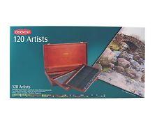 Derwent Artists Colour Pencils Wooden Box Set of 120