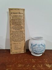 REPRODUCTION PHARMACY APOTHECARY JAR ABS TABELLAE