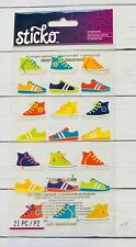 Funky Kicks Sneakers  Stickers Papercraft Planner Party Supply Teacher Journal