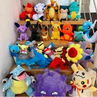 Pokemon Stuffed Plush Toy Pikachu Charmander Charizard Gengar Bulbasaur Squirtle