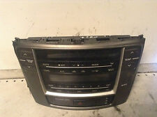 Lexus IS220 IS 220 250 350 Radio Climate control switch panel 55412-53050