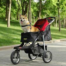 dog stroller 3 wheel Pet Stroller Dog Cage Stroller Portable Travel Carrier New