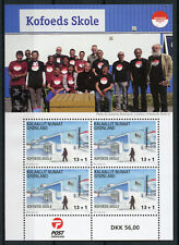 Greenland 2017 MNH Kofoed's School Nuuk Additional Value 4v M/S Education Stamps