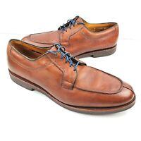 ALLEN EDMONDS Stockbridge Moc Toe Oxfords Men's 13B Brown Leather Lace-Up Shoes