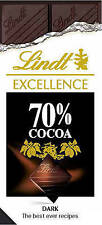 Lindt Excellence Dark Chocolate Recipe Book - Puddings Cake Dessert Cook cookery