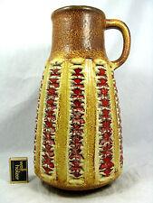 "70´s design  Jasba  "" Relief ""  Keramik Vase  #  pottery vase   1  624 35 cm"