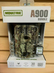 New Moultrie A-900 Bundle Infrared 30 MP Game Camera 2 Year Warr Auth/ Dealer
