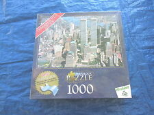 "2001 Perfalock Commemorative Edition ""New York City""1000 Piece Puzzle NEW Sealed"