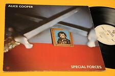 ALICE COOPER LP SPECIAL FORCES ORIG GERMANY 1981 EX TOP COLLECTORS
