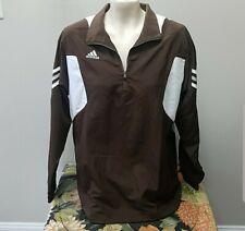 Adidas Golf Men's Wind Proof Rain Jacket Climaproof Coffee Brown • XS